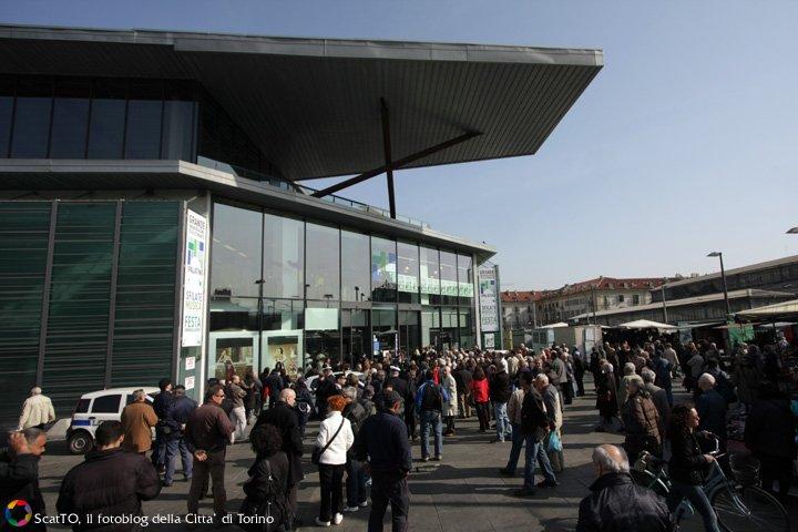 Apre il centro palatino il nuovo mercato coperto dell - Mercato coperto porta palazzo orari ...