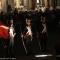Un momento dell\'esibizione dei Granatieri in piazza San Carlo