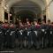 I granatieri si preparano per lo spettacolo in piazza San Carlo