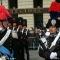 I carabinieri in alta uniforme