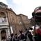 I Granatieri in piazza Carignano