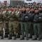 Le forze armate schierate