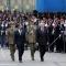 Giorgio Napolitano e Ignazio La Russa passano in rassegna le truppe