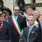 Le autorità. Con la fascia tricolore l\'Assessore Maurizio Braccialarghe, con la fascia azzurra il Presidente della Provincia di Torino, Antonio Saitta