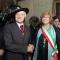 Il Generale Benito Pochesci e Maria Cristina Spinosa, Assessore al Decentramento, Pari opportunità, Economato, Contratti e appalti