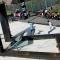 8sk8 il monumento disegnato dall\'artista/designer torinese Raoul Gilioli dedicato allo skateboard