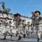 I bersaglieri sfilano in piazza San Carlo