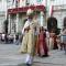 Il corteo storico in piazza Palazzo di Città