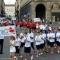 L\'ingresso dei giovani atleti in piazza San Carlo