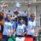 Le medaglie d\'oro Natalia Valeeva, Guendalina Sartori e Jessica Tomasi