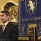 Il Presidente del Consiglio Comunale, Giovanni Maria Ferraris, apre l\'incontro con l\'Arcivescovo Nosiglia