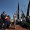 Un momento della cerimonia di inaugurazione