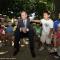 Il sindaco fra i bambini del Centro Estivo di piazza Guala