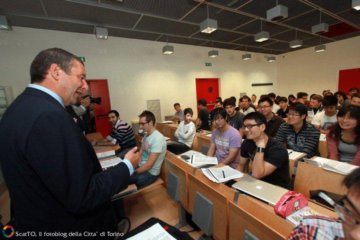 Il primo giorno del corso di ingegneria dell auto a fiat for Politecnico design
