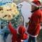 La mostra dei babbi natale creati dalle scuole primarie e d\'infanzia