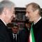 Mario Monti e Piero Fassino