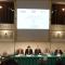 Un momento della conferenza stampa a Palazzo Madama