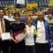 Le premiazioni con l\'Assessore allo sport della Città di Torino, Stefano Gallo e la Direttrice della Direzione Sport e Tempo Libero, Elisabetta De Nardo