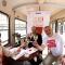 Barbara Herlitzka, Pr Manager Martini; Maurizio Braccialarghe, Assessore alla Cultura, Turismo e Promozione della Città di Torino e Eugenio Guarducci, Presidente di Sedicieventi
