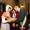 Gianduja e Giacometta consegnano i Pani della Carità al Sindaco