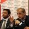 L\'Assessore allo sport Stefano Gallo e il Sindaco Piero Fassino