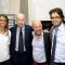 Marta Bechis, il Presidente Maurizio Magnabosco, Marco berry ed il Vice Presidente Giuseppe Sbriglio