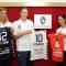 Piccini, Fernandez e Sirressi presentano le nuove divise