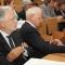 Il Vice Presidente Compagnia di San Paolo Luca Remmert e Mario Rey Consigliere di Amministrazione Fondazione CRT