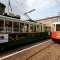 Il tram storico di Portici di Carta