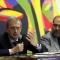 Piero Fassino e Maurizio Braccialarghe durante la conferenza stampa