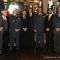 Il sindaco Fassino riceve nel proprio ufficio i vertici delle Fiamme Gialle e Gianni Petrucci, presidente del Coni