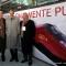 Piero Fassino con Giuseppe Sciarrone e Antonello Perricone A.D. e Presidente di Ntv