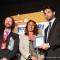 L\'Assessore Enzo Lavolta ritira il premio per il progetto finalista Cruscotto urbano, sviluppato dal CSI Piemonte