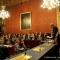 La Sala Rossa durante il discorso del Sindaco Piero Fassino