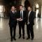 L\'Assessore Stefano Gallo con il ministro Maurizio Martina e il commissario per Expo 2015, Giuseppe Sala