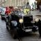 La sfilata delle auto storiche in via Po