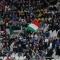 Il tricolore sugli spalti dello Juventus Stadium