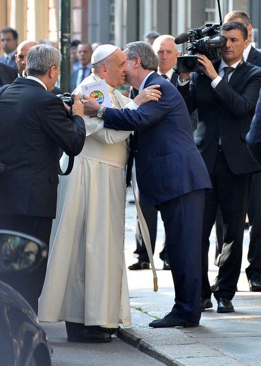 Papa francesco d l arriverderci a torino - Tavola valdese progetti approvati 2015 ...