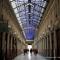 L'energia che unisce si espande nel blu di Marco Gastini in Galleria Umberto I° (Porta Palazzo)