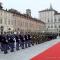 Le Forze Armate in piazza Castello