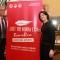 La sindaca Chiara Appendino e il Presidente del Cus Torino, Riccardo D\'Elicio