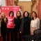 Foto di gruppo alla conferenza stampa di Just the woman I am