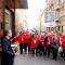 L'Assessore Alberto Sacco saluta i volontari di Turismo Torino e Provincia