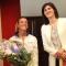 Omaggio floreale per Tania Cagnotto