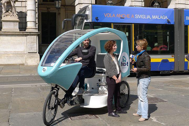 Bici T Moderni Risciò Per Scoprire La Città
