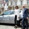 La Sindaca Chiara Appendino e l'Amministratore Delegato di Nissan Italia, Bruno Mattucci