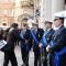 La Sindaca Chiara Appendino saluta i comandi dei Vigili Urbani