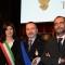 La Sindaca Chiara Appendino, il Comandante della Polizia Municipale Torino, Emiliano Bezzon e l'Assessore Roberto Finardi