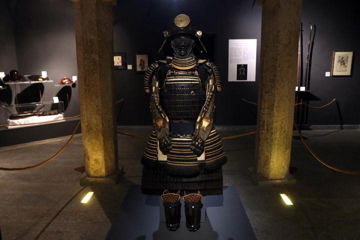 Museo d arte orientale for Samurai torino