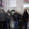 La lapide dell'ANED posta di fronte al Binario 17 - Stazione di Porta Nuova